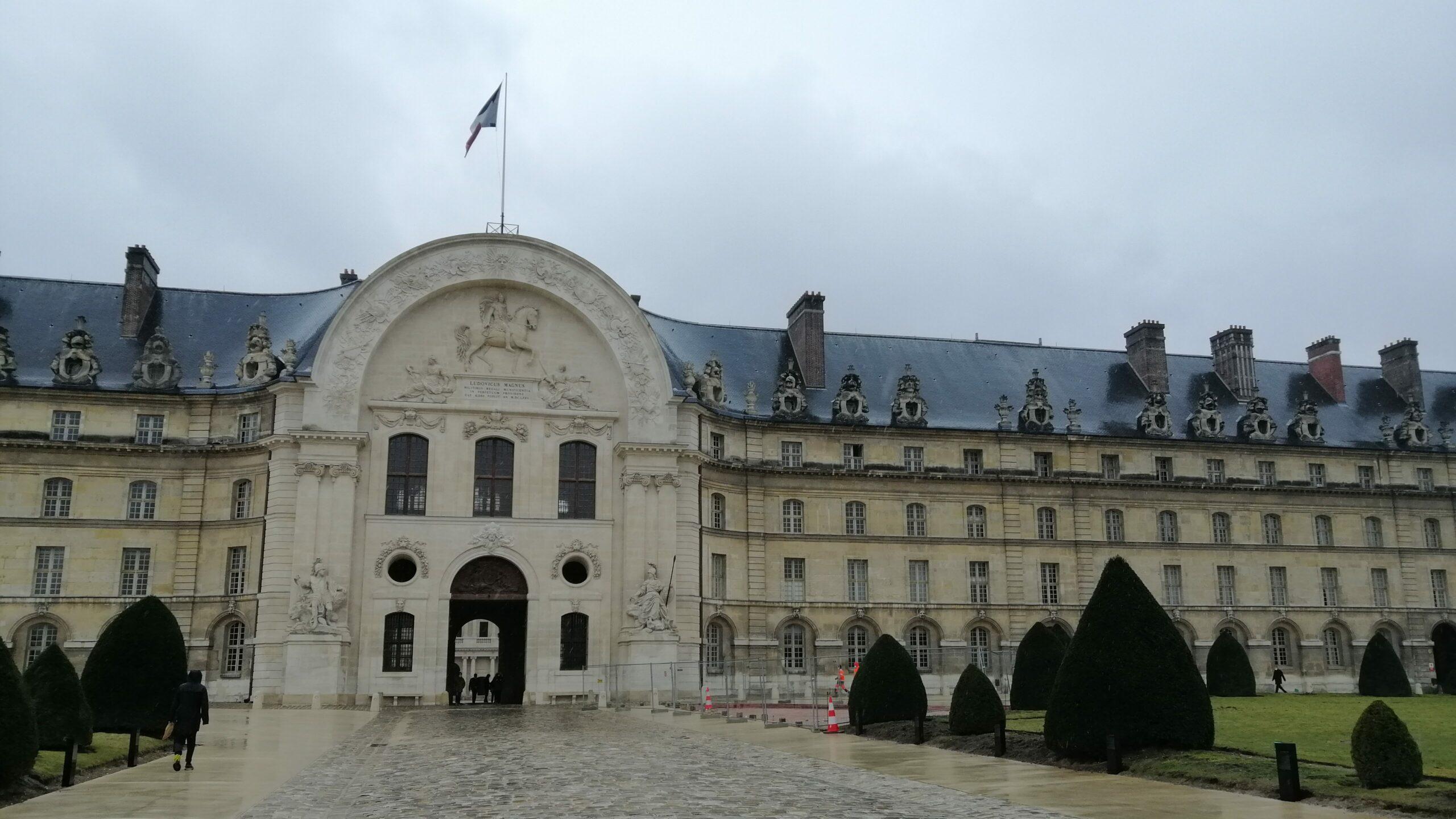 Façade Nord des Invalides - Aslé Conseil - Diagnostic monuments historiques